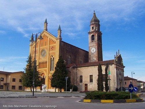 Casaleone - il capoluogo - foto di Aldo Marchesini - Fiera del Radicchio Rosso