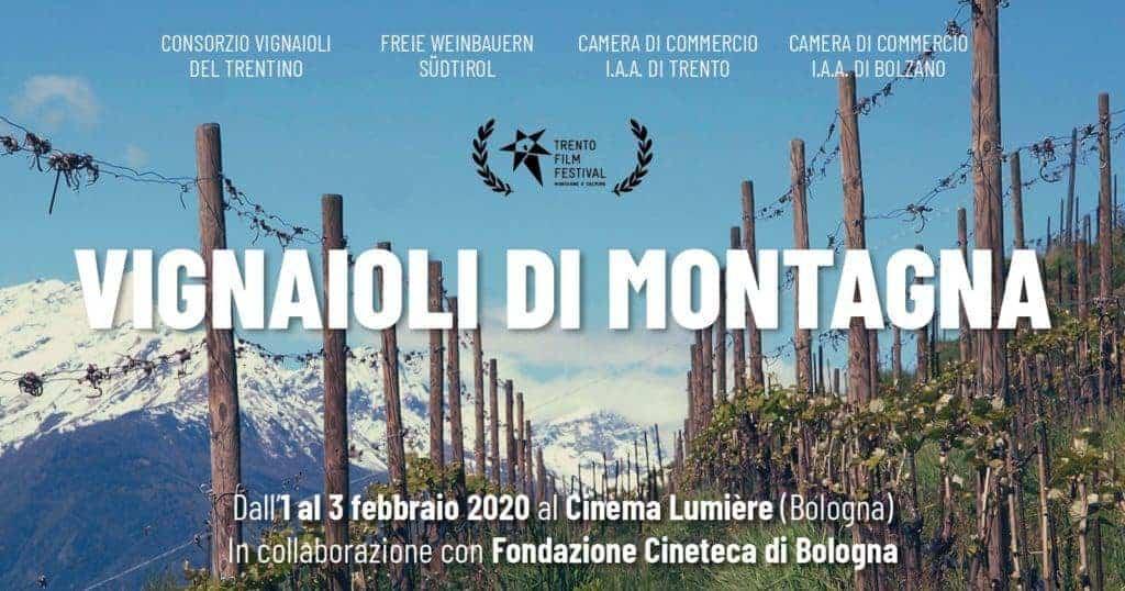 Vignaioli di Montagna: a Bologna dal 1° al 3 febbraio 2020 tra cinema, vino e gastronomia. Scopri il programma e le Masterclass