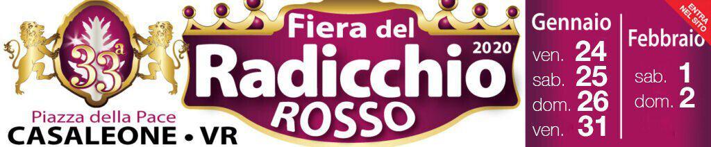 Fiera del Radicchio Rosso di Casaleone (Verona) dal 24 al 26 gennaio e dal 31 al 2 febbraio 2020. Scopri programma, eventi e informazioni utili