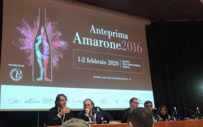 """Anteprima Amarone 2016 a Palazzo Gran Guardia di Verona. Aldo Sartori: """"l'Amarone deve diventare un prodotto iconico, emozionale, esperenziale"""""""