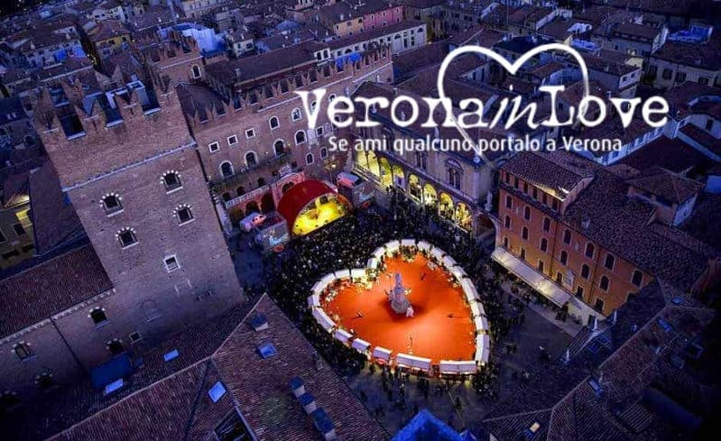 Festa di San Valentino - Verona in Love - 2020 - festa degli innamorati - Romeo e Giulietta