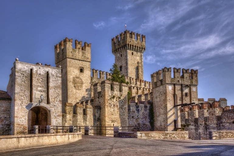 Castello di Sirmione sul Lago di Garda