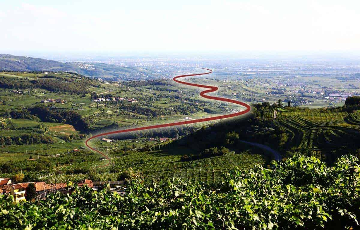 Cammino del Bardolino Lago di Garda