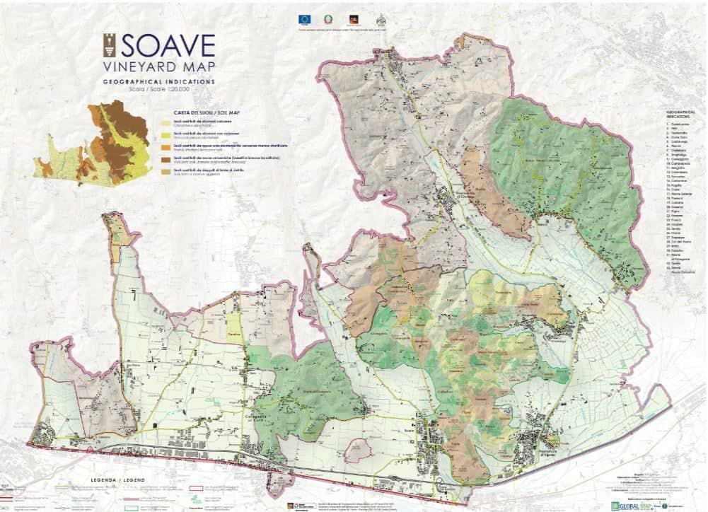 CRU Soave Mappa