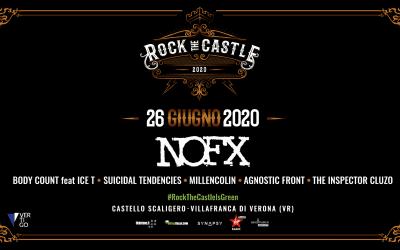 I NOFX in concerto al Rock The Castle a Villafranca di Verona venerdì 26 giugno 2020. Scopri le informazioni utili