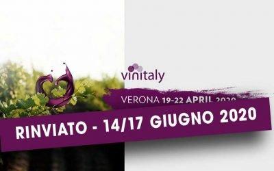 Nuove date per Vinitaly 2020: dal 14 al 17 giugno 2020 il Salone Internazionale del Vino e dei Distillati