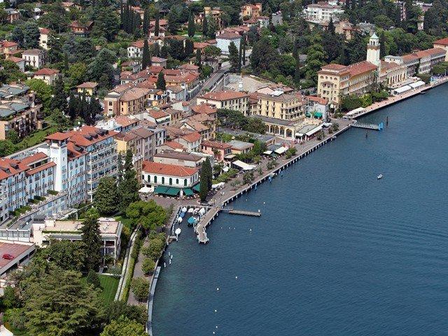 Gardone Riviera vista dall'alto