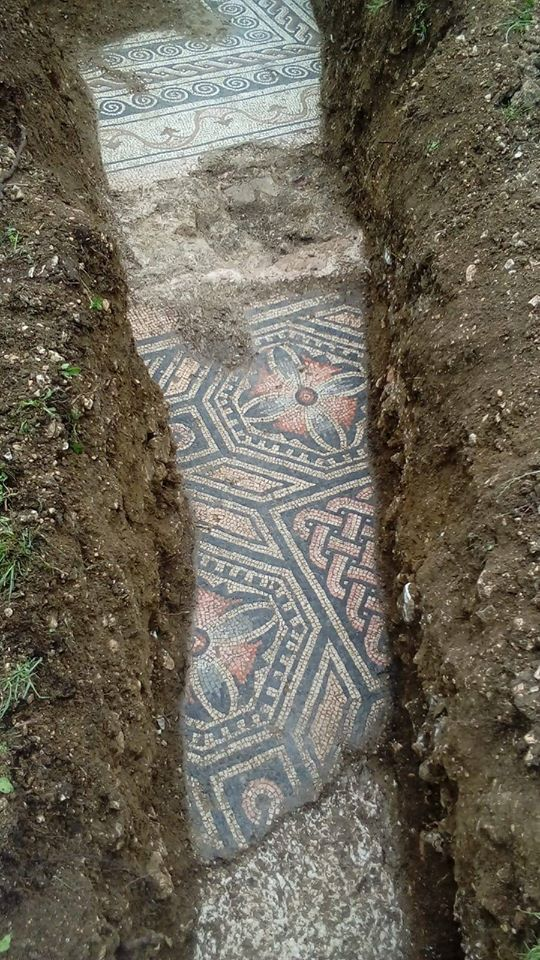 Mosaici Villa romana a Negrar