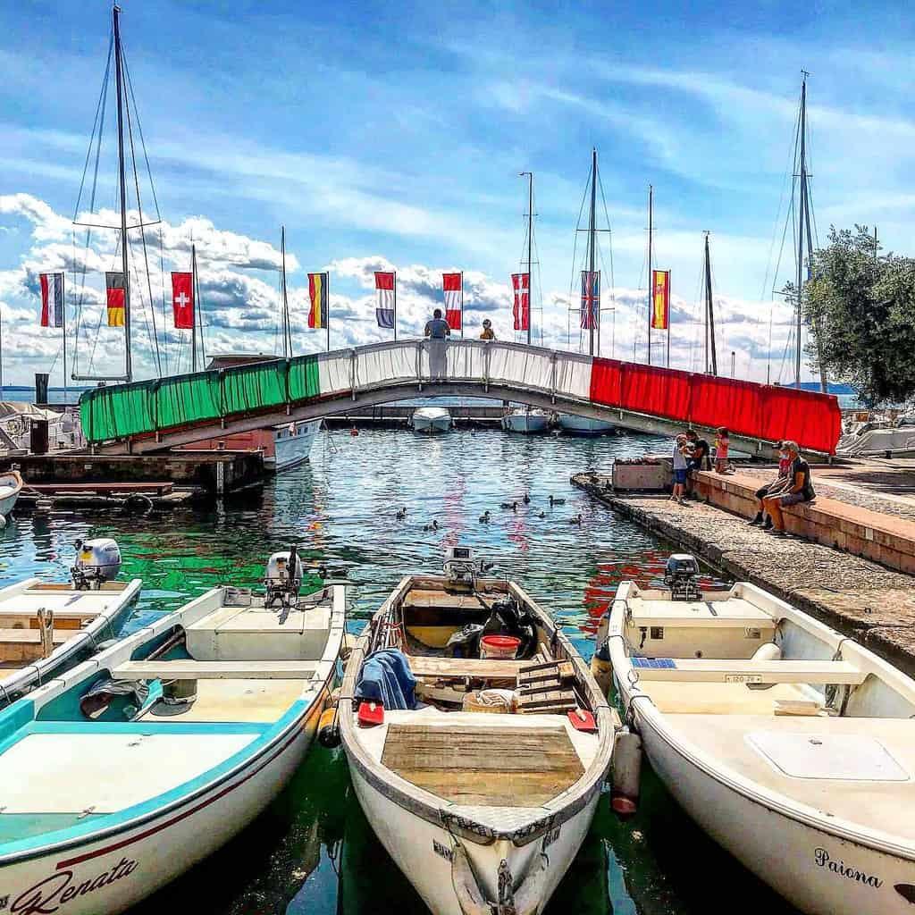 Uno scorcio del lago di Garda