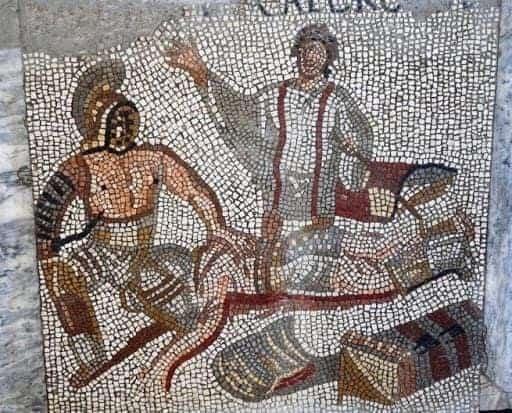 Mosaici della Villa a Negrar di Valpolicella