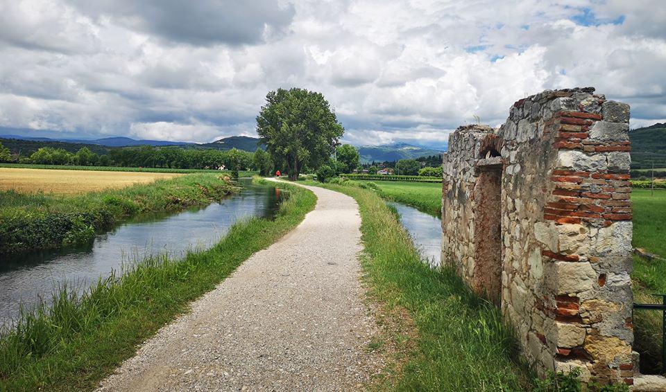 Montorio, la via ciclopedonale