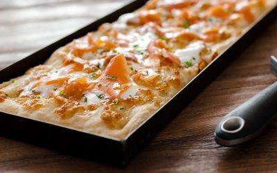 """Pizza in teglia alla Romana, pizza al lavarello e vini da abbinare. Sono le """"rinfrescanti"""" proposte del blogger pizzaiolo Andrea Braga"""